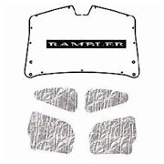 Trunk Lid Insulation Pad Cover For 1958-1960 Rambler American Rear With A-007