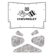 Hood Insulation Pad Heat Shield For 59-60 Chevy A-body And El Camino With Ceid-265
