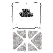 Hood Insulation Pad Cover For 71-72 Pontiac A-body Acoustihood Kit W/g-128 Judge