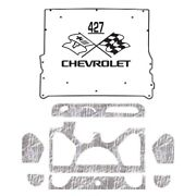 Hood Insulation Pad Heat Shield For 1976-1977 Chevrolet El Camino With Ceid-427
