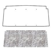 Hood Insulation Pad Heat Shield For 66-73 Jeep Jeepster Under Hood Cover- Smooth