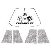 Hood Insulation Pad Heat Shield For 47-54 Chevrolet Truck Under Cover W/ceid-305