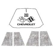 Hood Insulation Pad Heat Shield For 47-54 Chevrolet Truck Under Cover W/ceid-350