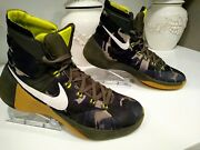 Nike Hyperdunk Camouflage Menand039s Athletic Shoes Size 10.5 High Top Slip Resistant