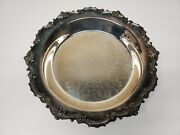 Epca Bristol Silverplate By Poole Round Serving Tray Platter 13in