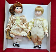 Porcelain Dolls - Classic Creations Ed And Eunice 10 New