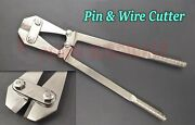 Orthopedic Pin And Wire Cutter 18.50 Veterinary Instrument Stainless Steel
