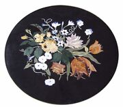 42 X 42 Marble Center Table Top Inlay Art For Home Decor And Garden
