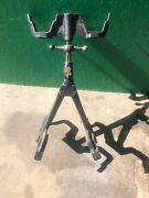 Duplex Double Spare Tire Carrier Model T / A Ford Era Has Key