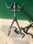 Duplex Double Spare Tire Carrier Model T / A Ford Era, Has Key