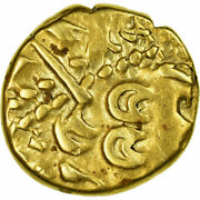 [658265] Coin Ambiani Stater Vf30-35 Gold Delestrandeacutee158