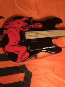 Fireball Whiskey Guitar New In Case Free Shipping To Usa And Canada