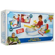 Disney Toy Story 4 Buzz Lightyear Star Command Center W/ Lights And Sounds New
