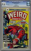 Weird Wonder Tales 17 Cgc 9.6 White Pages 30 Cent Variant Ultra Rare
