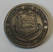 National Air Space Intelligence Center Saddam Hussein Air Force Challenge Coin