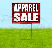 Apparel Sale 18x24 Yard Sign With Stake Corrugated Bandit Usa Business Deals