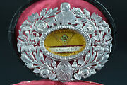 Antique Rare And Gorgeous Sterling Silver Reliquary St Vincent De Paul First Relic