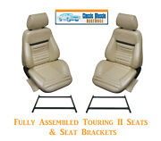 Mach 1 Touring Ii Fully Assembled Seats And Brackets 1970 Mustang - Any Color