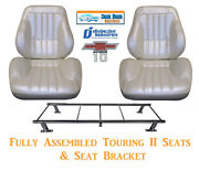 Standard Touring Ii Fully Assembled Seats And Bracket 67-72 Chevy Truck- Any Color