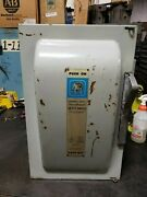 Ite 200 Amp Fused Safety Switch 240 Vac 4 Pole 2 Phase 50 Hp Jf424
