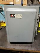 Cutler Hammer 200 Amp Fused Safety Switch 240 Vac 2 Phase 4 Pole 50 Hp 4105h