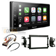 Pioneer Apple Carplay Double Din Radio Stereo Dash Kit For 2005-09 Ford Mustang
