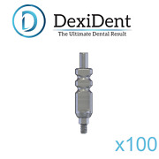 100 X Dental Transfer Impression Coping Open Tray For Dental Implant Abutment Ce