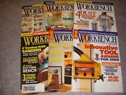 Workbench Magazine, Lot Of 6, 2004, Router Workshop, Router Table Fences
