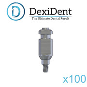 100 X Dental Transfer Impression Coping Closed Tray For Dental Implant Abutment