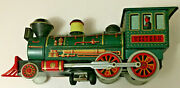 Modern Toy Made In Japan Train 14 Inche Long Tin