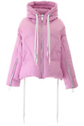 New Khrisjoy Khris Down Jacket Bsw023ny Pink Authentic Nwt