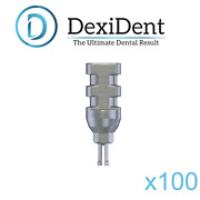 100 X Dental Implant Abutment Transfer Impression Coping Closed Tray Click 9mm