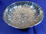 S. Kirk And Son Footed Repousse Sterling Silver Candy/trinket Dish 430 - A