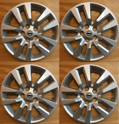 4x Wheelcover Hubcap Fits 2007-2018 Nissan Altima 16and039and039 10 Spoke New 2007-2018