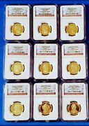 Andnbspcomplete 39 Set Presidential Gold Coins Ngc Pf69 Ultra Cameo L@@k