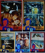 James Bond Spy Who Loved Me German A1 Movie Posters X5 Seiko 1977 Roger Moore