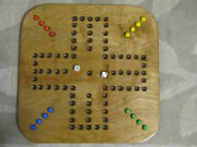 Aggravation Game Board 4ea - Four Player Square Wooden Game Board