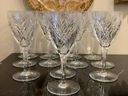 Baccarat Crystal Auvergne Perigold Tall Water Goblet Set Of 12