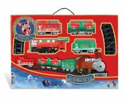 Rudolph The Red Nosed Reindeer O-gauge Battery Operated Train Set Sealed Nib
