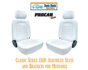 Classic Complete Seats And Bracket Kit Procar 80-1500-53 For 1965-1998 Mustang's