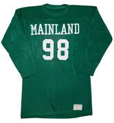 Vintage 1960s Russell Southern Linwood Nj Mainland High School Football Jersey