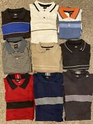 Lot Of Rare Tiger Woods Nike Golf Polos/shirts Collection 1999 Samples Large