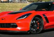 19x10 / 20x12 Cray Spider Matte Black Wheels For C5 C6 C7 Chevrolet Corvette