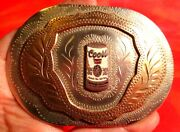 Awesome Coors Beer Can Western Flair Hand Made Engraved Belt Buckle
