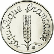 [754023] Coin France Andeacutepi Centime 1991 Paris Proof Ms65-70 Stainless