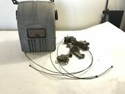 Jeep Kaiser Willys Truck Blower Motor Heater Box W/ Hardware Original Vintage