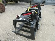 New 80 Hd Log Root Brush Grapple Bucket 2 Cylinder Usa Made Attachment