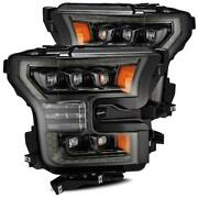 For 15-17 Ford F150 Nova Projector Headlights W/ Activation Sequential Signal