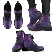 Purple Wolf Handcrafted Womenand039s Booties Vegan-friendly Leather Boots
