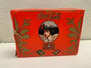 Vintage Coca Cola Soda Tin With 2 Decks Of Playing Cards
